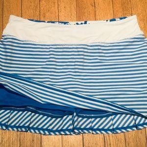 """Lululemon """"Pace Setter"""" Skirt"""